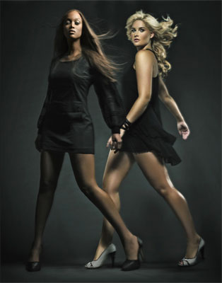 Tyra and Whitney